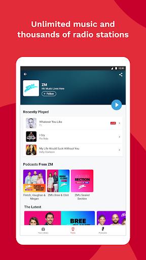 iHeartRadio - Free Music, Radio & Podcasts screenshot 10