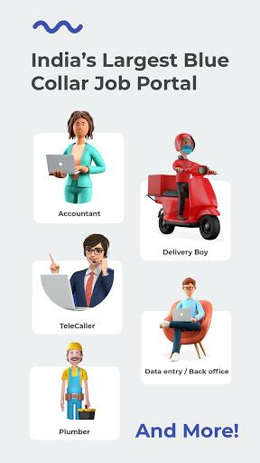 WorkIndia Job Search App - Work From Home Jobs 1 تصوير الشاشة