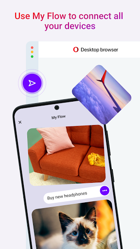 Opera Touch: fast, new & modern web browser screenshot 8