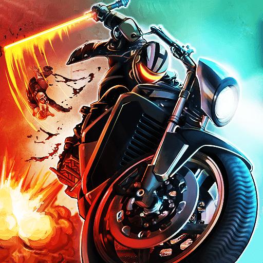 Bike Attack Race Highway Tricky Stunt Rider иконка