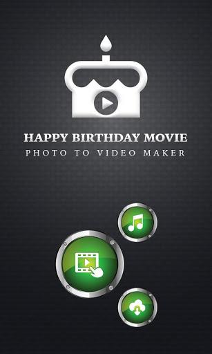 Birthday Slideshow with Music स्क्रीनशॉट 1