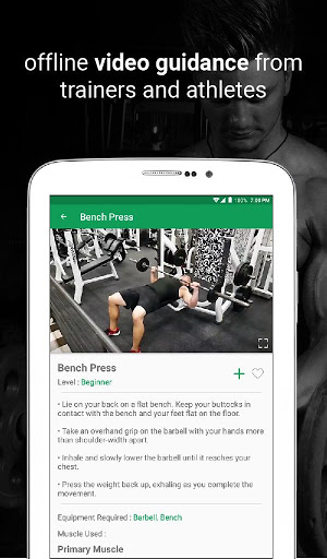 Fitvate - Home & Gym Workout Trainer Fitness Plans screenshot 13