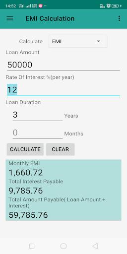 Interest Calculator screenshot 6