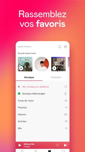 Deezer : musique, podcasts & playlists screenshot 7
