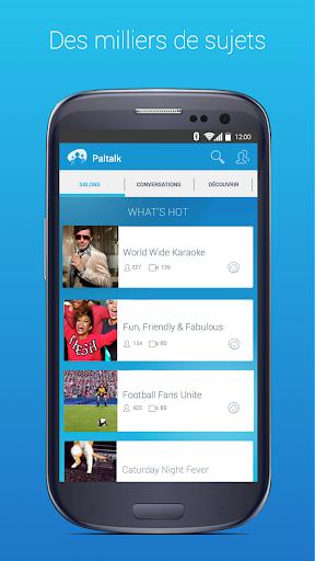 Chat, flirt, vidéo, avec inconnus ou amis: Paltalk screenshot 3