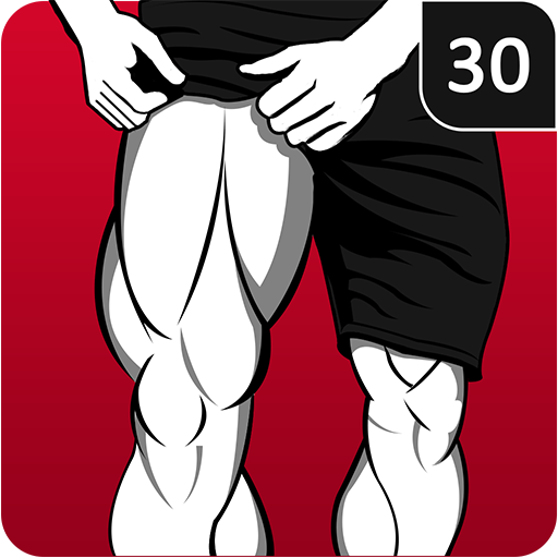 Leg Workout for Men - Thigh, Muscle Fitness 30 Day أيقونة