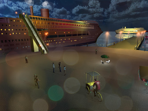 Transport Cruise Ship Game Passenger Bus Simulator स्क्रीनशॉट 9