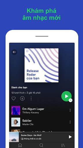 Spotify: Nhạc và podcast screenshot 7