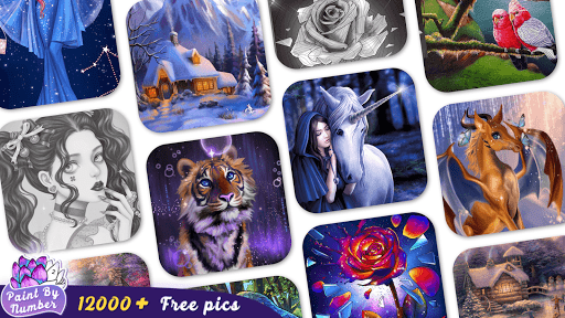 Paint By Number - Coloring Book & Color by Number screenshot 8