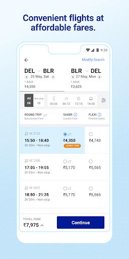 IndiGo-Flight Ticket Booking App 2 تصوير الشاشة