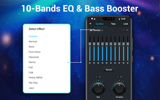 Reproductor de música -  MP3 y ecualizador de 10 screenshot 13