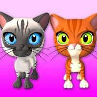 3友達猫&バニーを話します on 9Apps