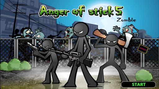 Anger of stick 5 : zombie screenshot 7