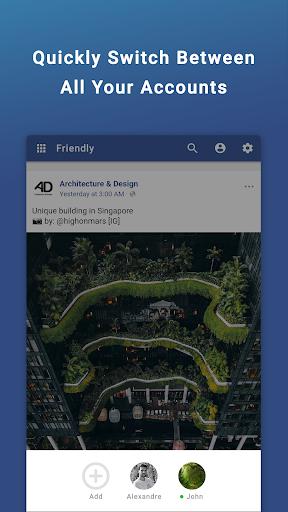 Friendly Social Browser screenshot 6