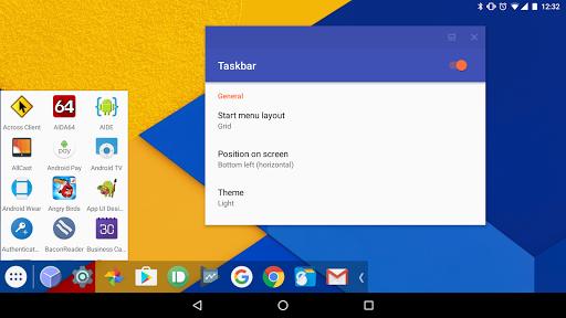 Taskbar - PC-style productivity for Android screenshot 2