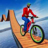 Stunt bike Impossible Tracks 3D: New Bicycle Games on 9Apps