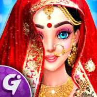 Indian Wedding Designer Sarees Beauty Salon Makeup on 9Apps