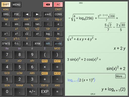 HiPER Scientific Calculator скриншот 14