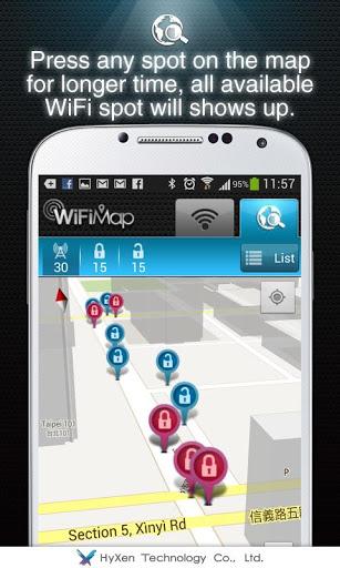 WiFiMap (Free WiFi) screenshot 5