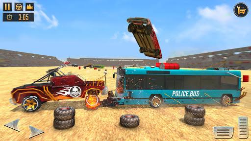 Police Bus Demolition Derby screenshot 4