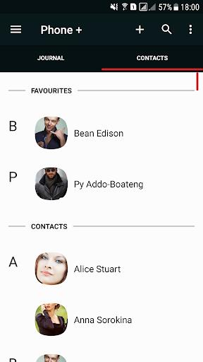 Phone   Contacts and Calls 1 تصوير الشاشة