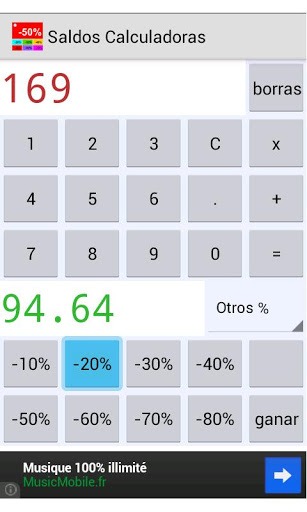 Ventas calculadoras screenshot 2