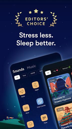 Relax Melodies: Sleep Sounds, Meditation & Stories स्क्रीनशॉट 1