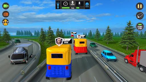 Tuk Tuk Auto Rickshaw Driving Simulator Games screenshot 4