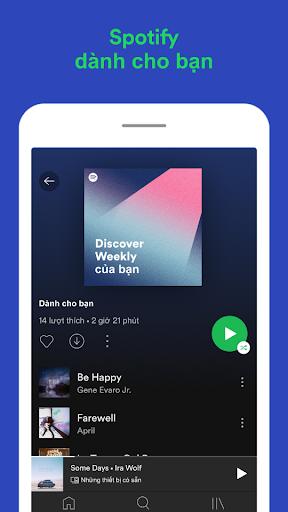 Spotify: Nhạc và podcast screenshot 6