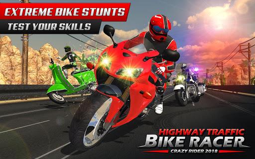 Highway Rider Bike Racing: Crazy Bike Traffic Race screenshot 3