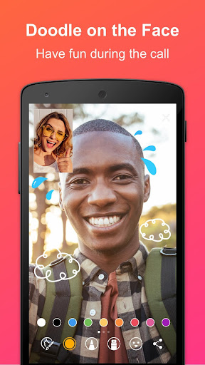 JusTalk - panggilan video dan obrolan video gratis screenshot 2