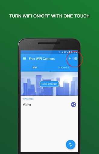 Free WiFi Connect screenshot 1