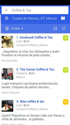 Foursquare screenshot 2