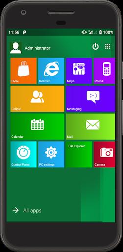 Metro UI Launcher 10 screenshot 2