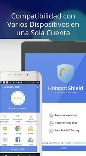 Hotspot Shield Proxy VPN gratuito y VPN segura screenshot 10