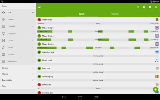 Advanced Download Manager & Torrent downloader screenshot 12
