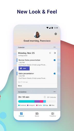 Microsoft Launcher screenshot 2