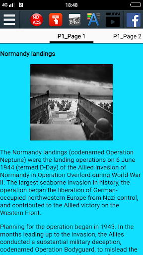 D-Day History स्क्रीनशॉट 2