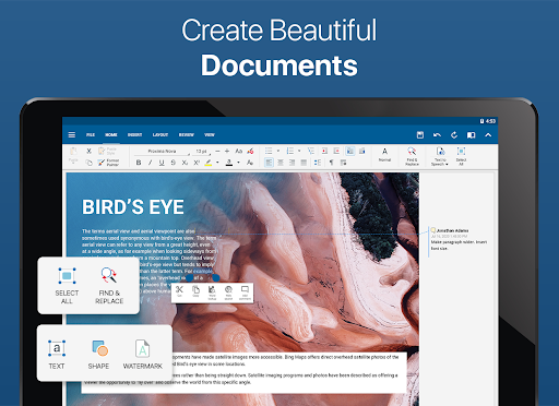 OfficeSuite - Word docs, Excel sheets, PDF files screenshot 8