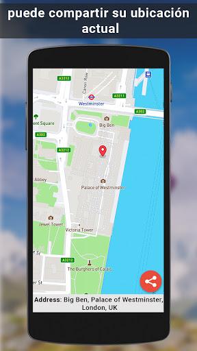GPS satélite - En Vivo tierra mapas Y voz náutica screenshot 5