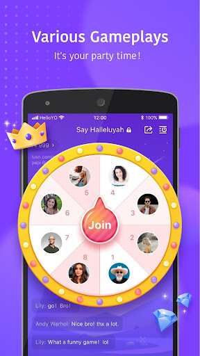 Hello Yo - Group Chat Rooms screenshot 8