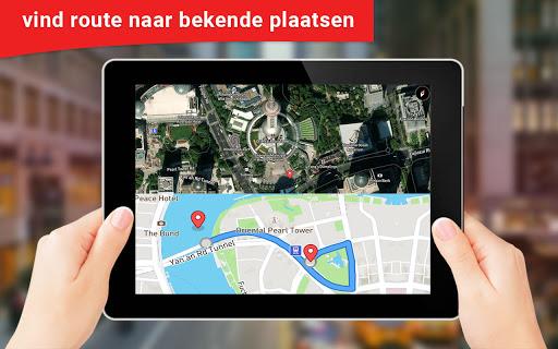 GPS satelliet - leven aarde map & stem navigatie screenshot 3