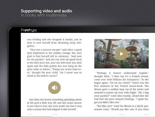 eReader Prestigio: Okuyucu screenshot 18