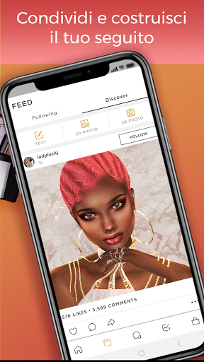 IMVU: social network con amici e chat room screenshot 6