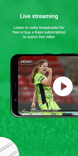 Cricket Australia Live screenshot 4