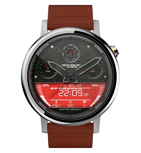 Octane Watch Face & Clock Widget скриншот 11