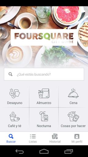 Foursquare screenshot 1