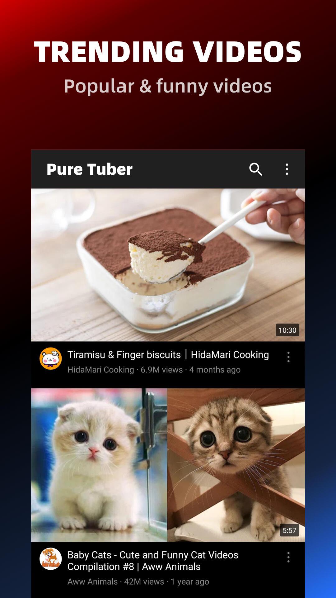 Pure Tuber - Block Ads for Video, Free Premium screenshot 6