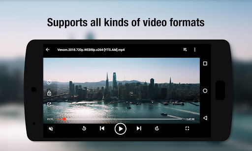 Video Player All Format - Full HD Video mp3 Player screenshot 1