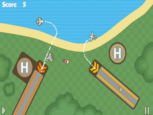 Control Tower - Airplane game screenshot 7